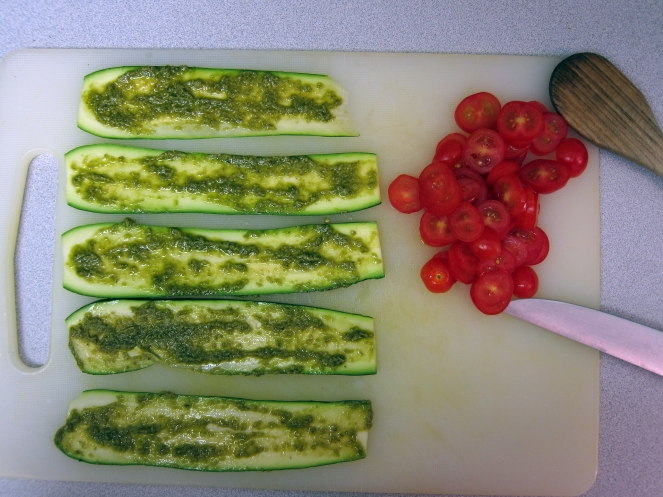 Zucchini Roll-Up Step 1